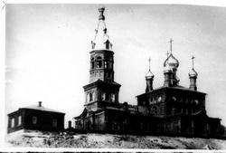 Свято-Никольский храм села Кага